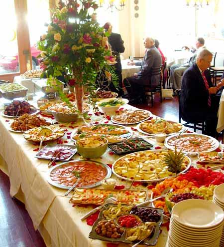 Wedding Reception Buffet Food Ideas