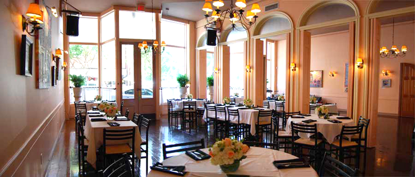 Caffe Luna Italian Cuisine Catering With A Tuscan Flair In Downtown Raleigh